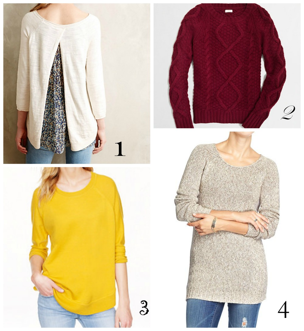 1. Anthropologie  . 2.   J.Crew Factory  . 3.     J.Crew  . 4.   Old Navy  .