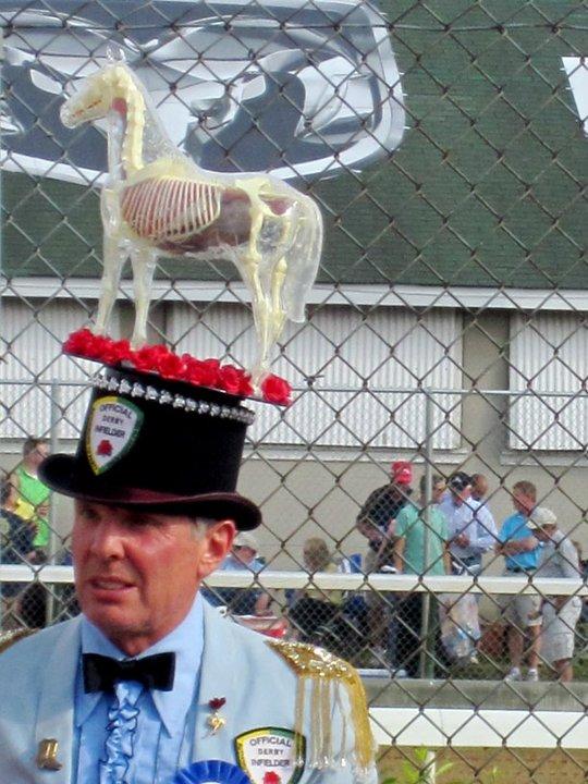 ...horse skeleton hat swag?