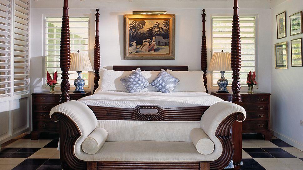 Luxe accommodations ralph lauren 39 s carribean dream for Bedroom designs in jamaica