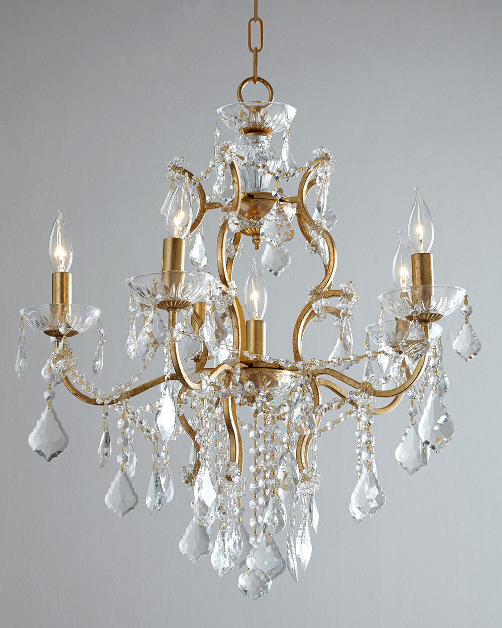 Great Now try not to feign mock surprise when I tell you a chandelier is what you need to plete the look Save your acting skills and rush over to grab this