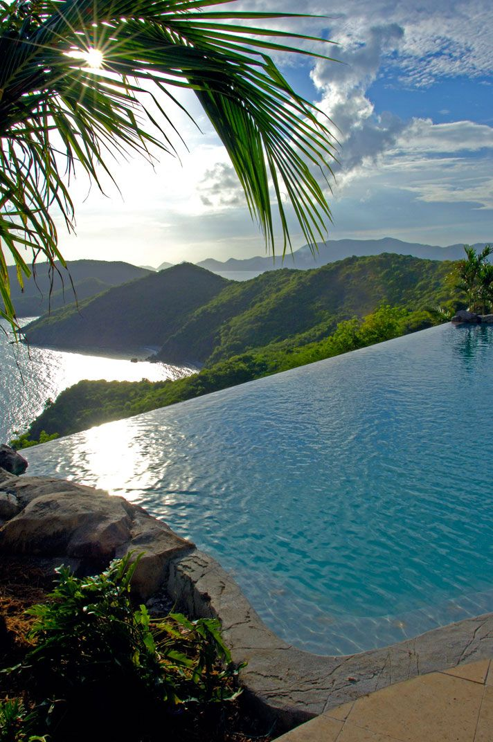 {Peter Island, Falcon's Nest, British Virgin Islands // via Pinterest}