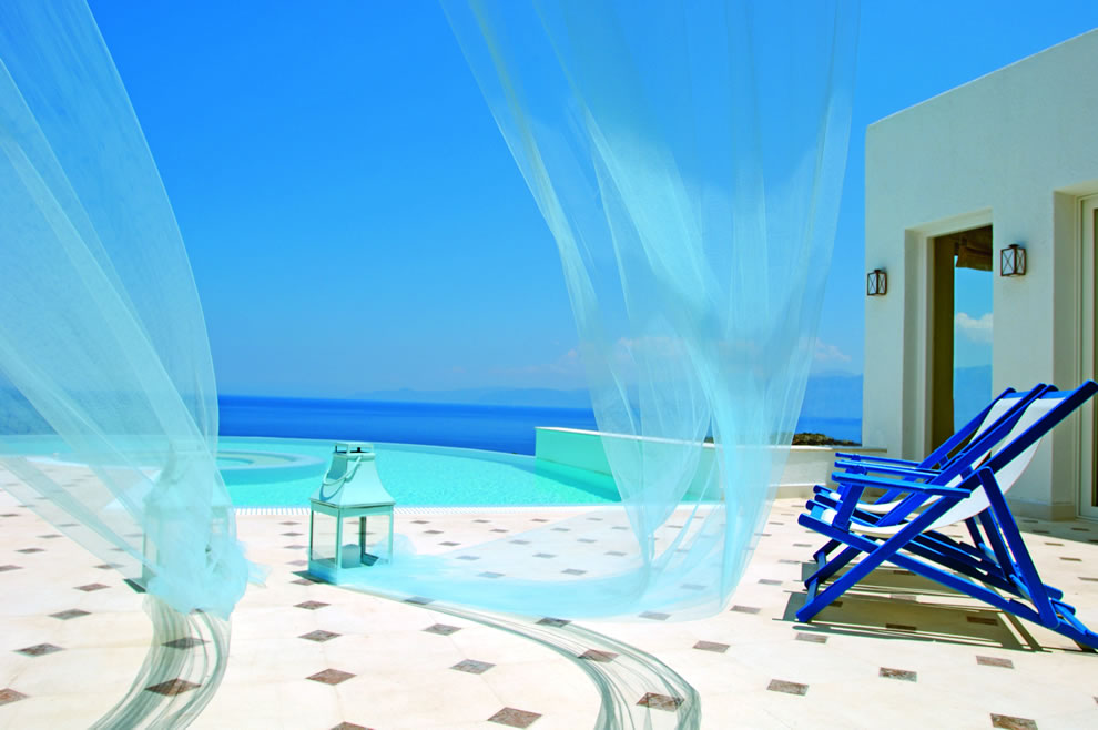The Elounda Gulf Villas Suites Greece Infinity Pool