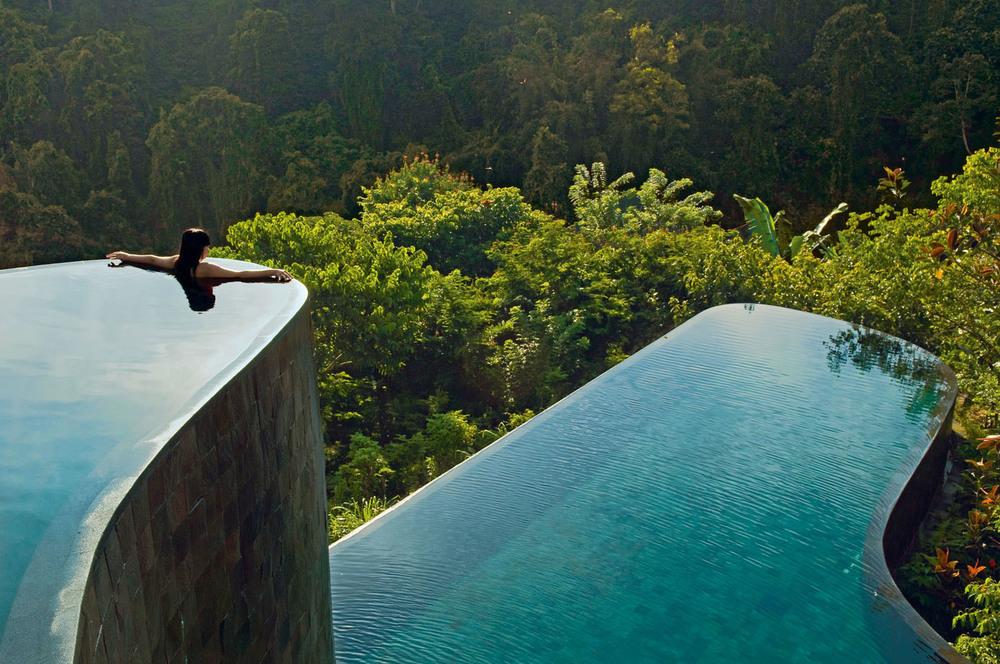 Ubud Hanging Gardens Infinity Pool, Bali