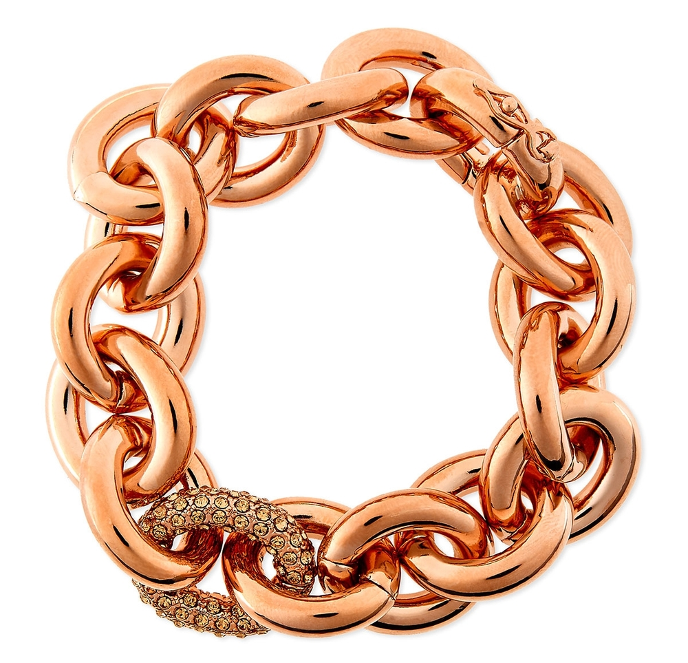Rose gold jewelry  with a modern edge...