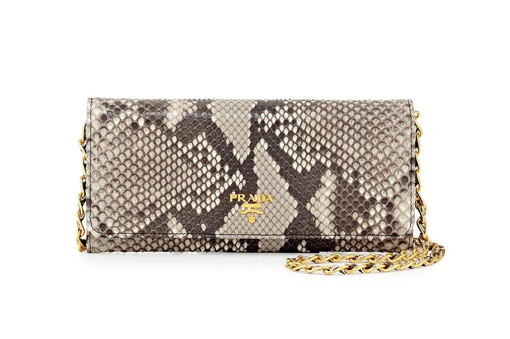 The perfect  petite python bag. ..