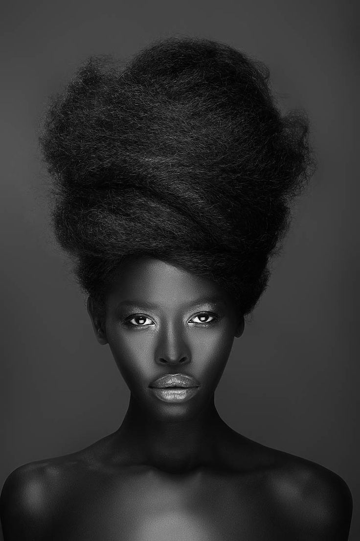 {via  Pinterest   // cited as Model Gloria Nyaega. Photography - Adham Abou-Shehada. Mua - State of Face. Hair Stylist - Cassi Young-Paxton SC | SC on Facebook}