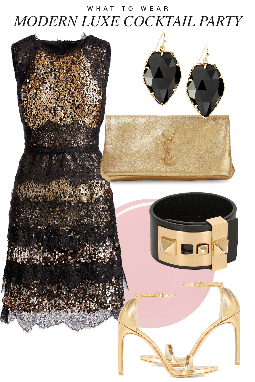 What to Wear: Modern Luxe Cocktail Party Dressing... — Franki Durbin
