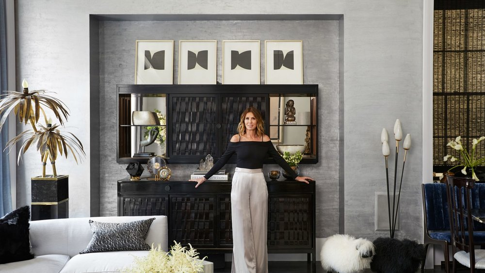 Carole Radziwill at home via Architectural Digest