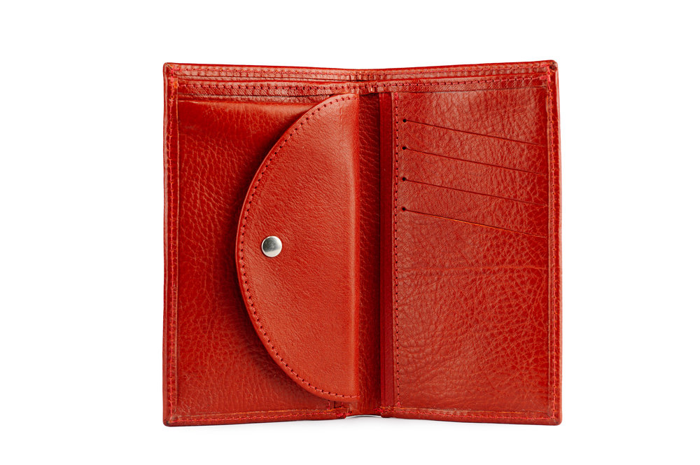 Holden Ladies Medium Leather Wallet Red Inside Copy QC.jpg