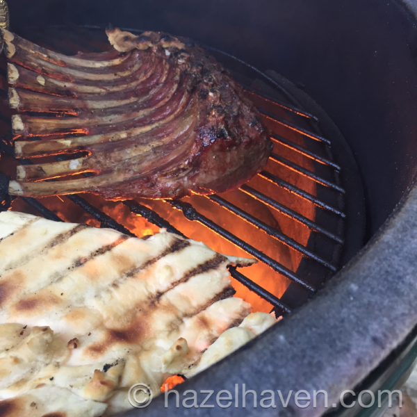 Grilled Lamb Recipe | hazelhaven.com