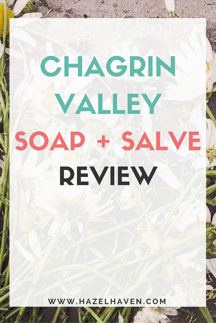 Chagrin Valley Soap and Salve Review via @hazelhaven
