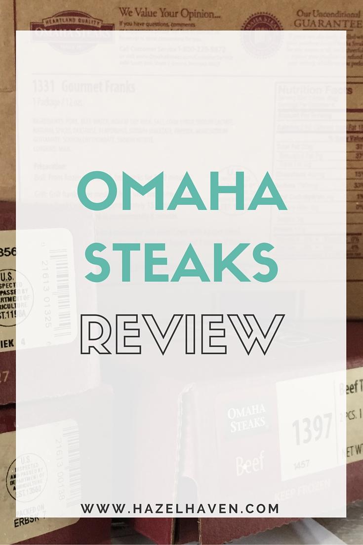Omaha Steaks Review via @hazelhaven