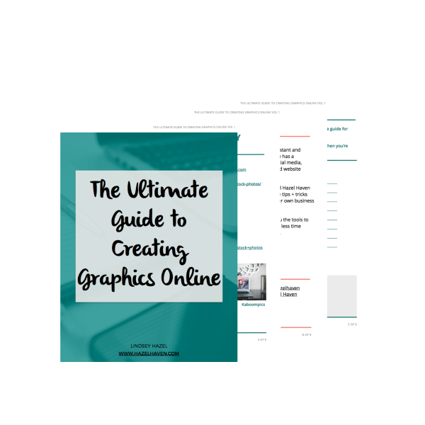 The Ultimate Guide to Creating Graphics Online via @hazelhaven