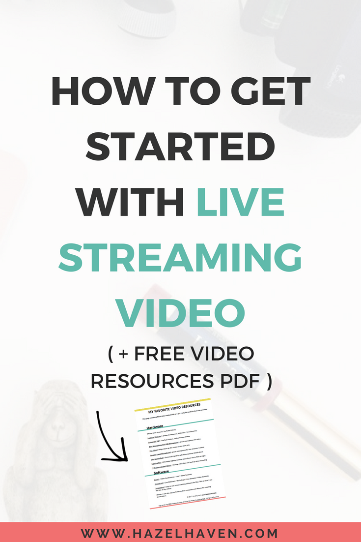 How to Get Started with Live Streaming Video