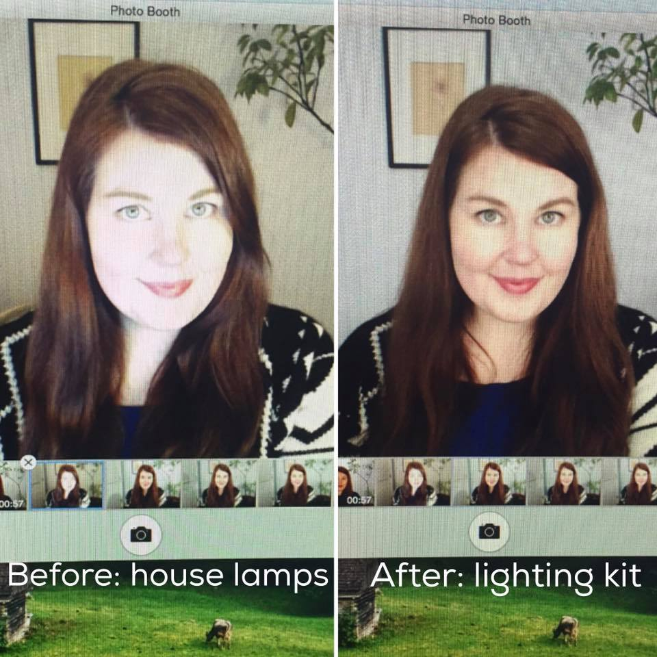 Lighting Kit*This budget friendly lighting kit gives me life and it also allows me to film at night -