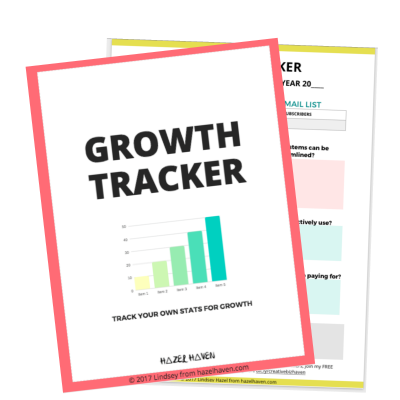 Download your own Growth Tracker here! http://bit.ly/trackyourgrowth