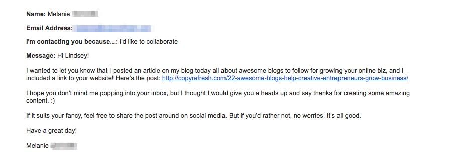 How to Create a Collaboration/Roundup Blog Post via hazelhaven.com @hazelhaven