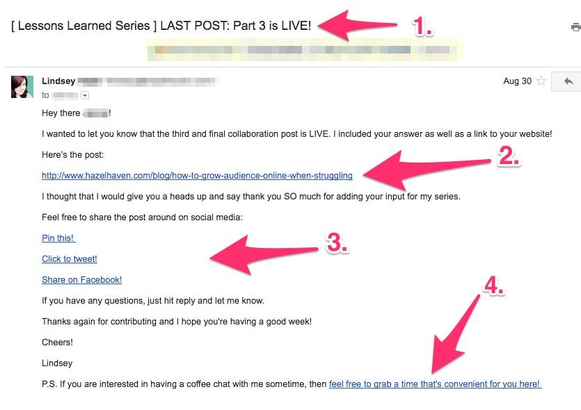 How to Create a Collaboration series via hazelhaven.com #blogging