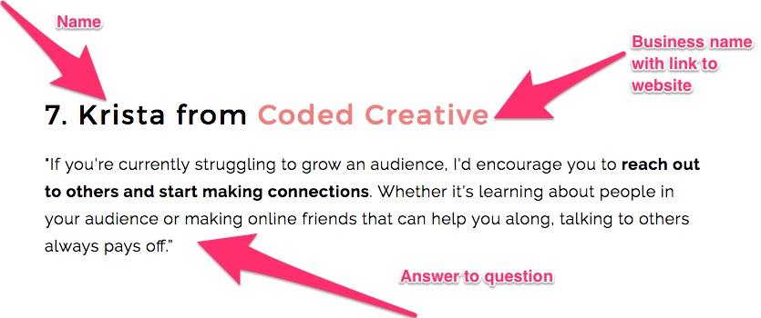 How to create a collaboration roundup blog post via @hazelhaven hazelhaven.com #blogging @hazel__haven