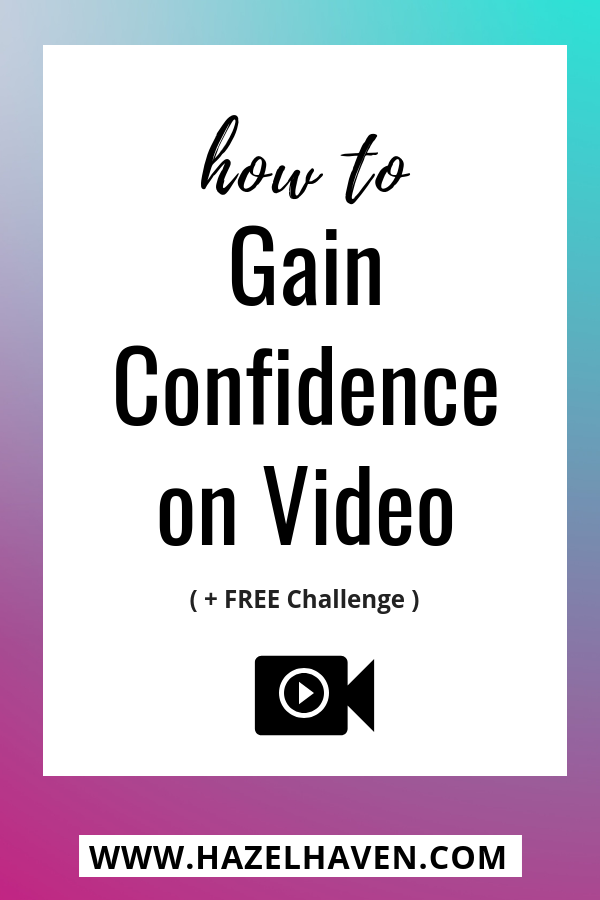 How to Gain Confidence on Video #videoconfidence #youtube #videomarketing