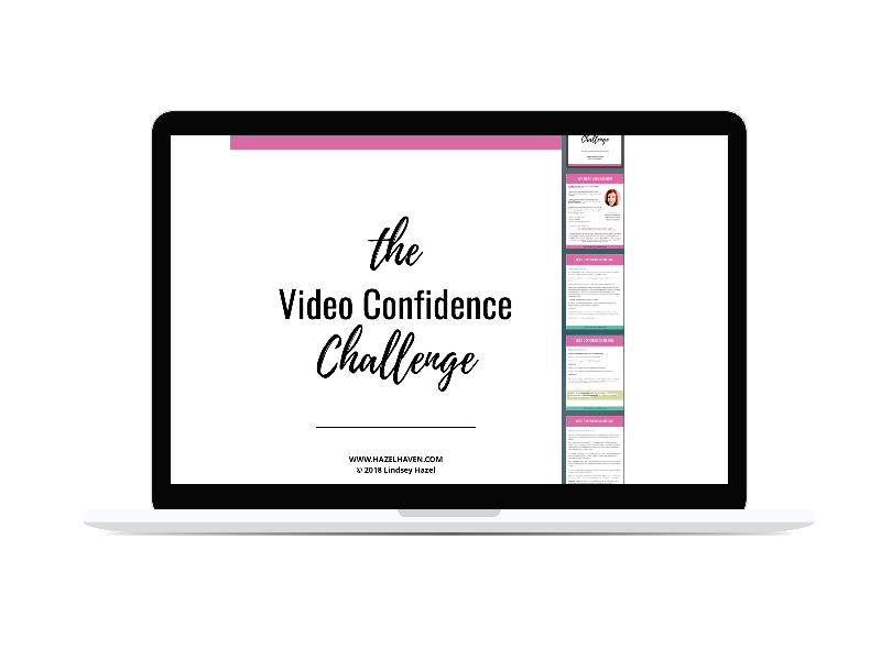 How to Gain Confidence on Video #videoconfidence