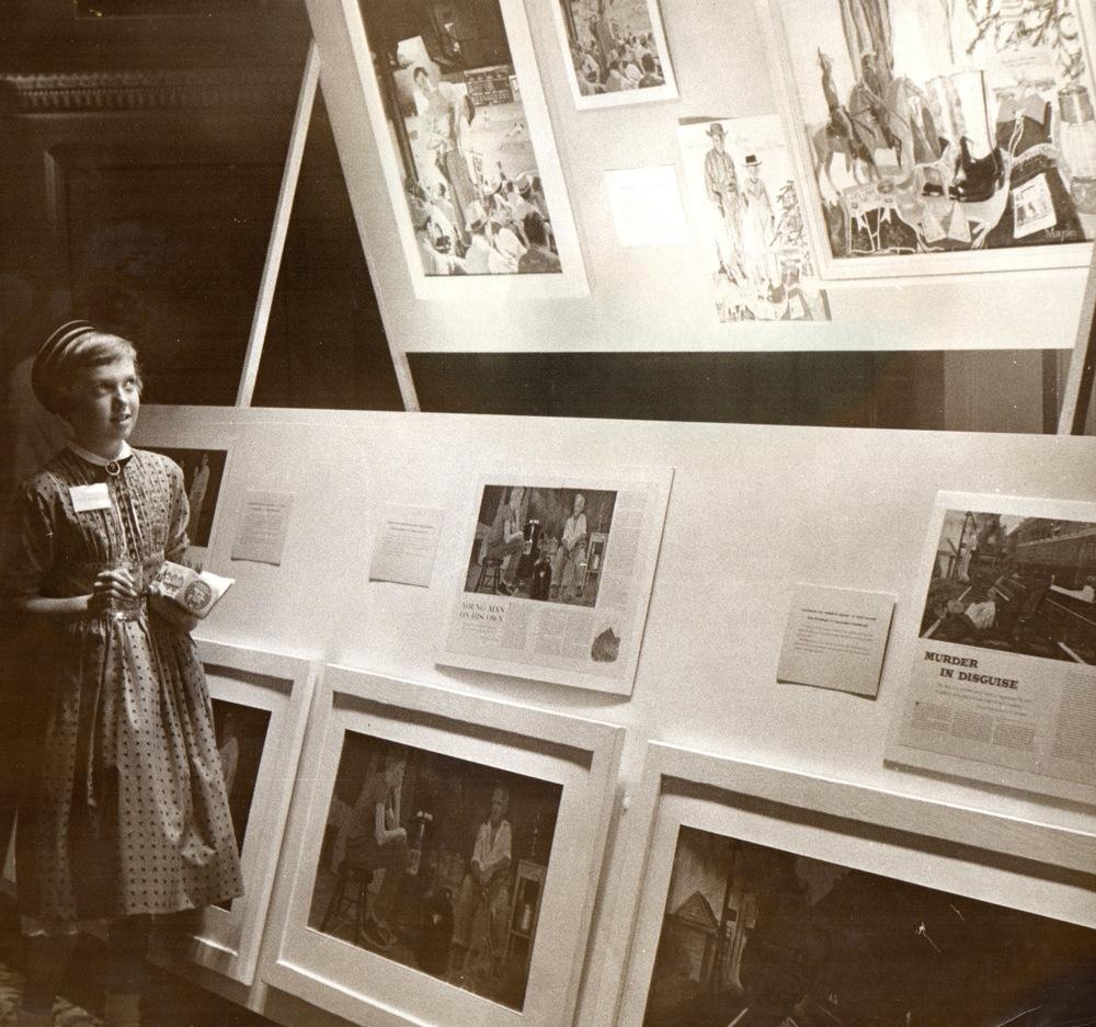 1958 exhibit