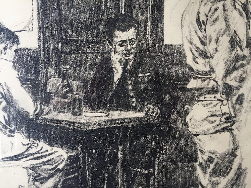 Cafe, 1944