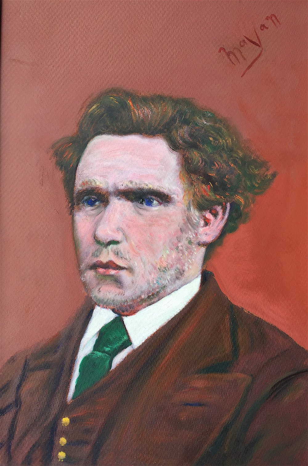 Van Gogh As A Young Man