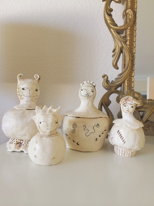 I will be adding these chimerical jars to my shop soon!