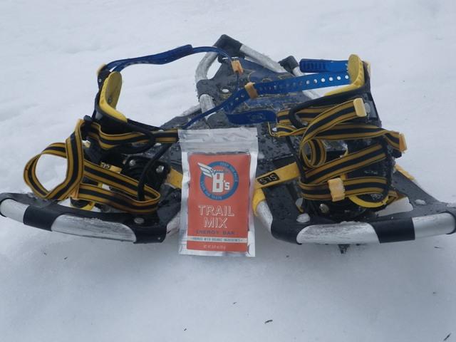 Snowshoeing in Quebec, Canada