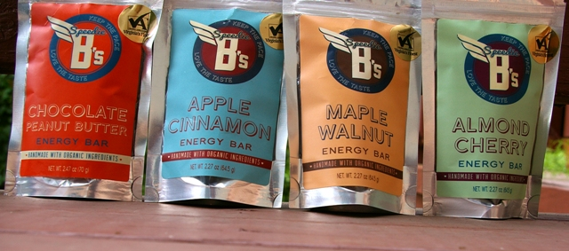 Speedie B's Energy Bars come in some freaking-awesome flavors that will give you sustainable energy.