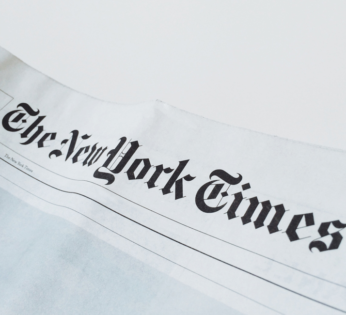 The New York Times <span>USA, Nov. 2013</span>