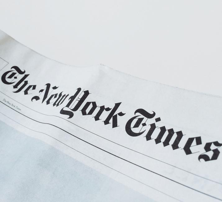 The New York Times <span>USA, Nov. 2013</span>