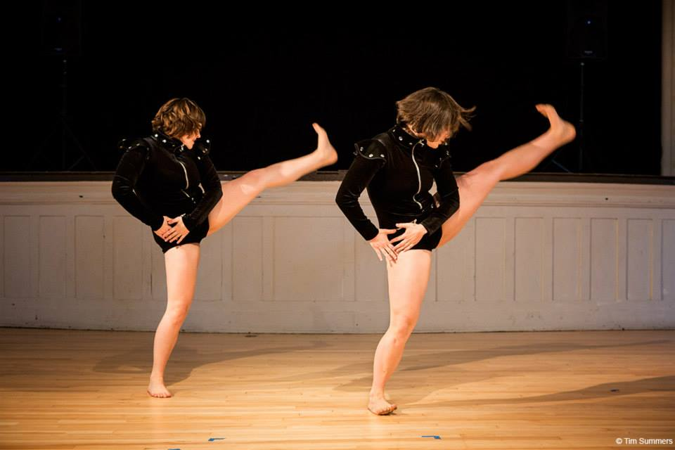 Amy Johnson and Danica Bito in   Crept-dead-star-time   Photo by Tim Summers