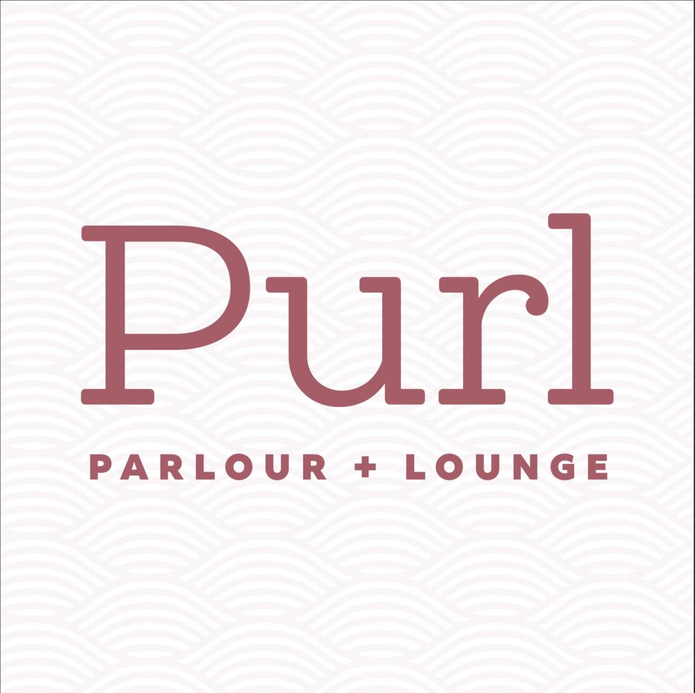 Purl Parlour + Lounge Branding Concept