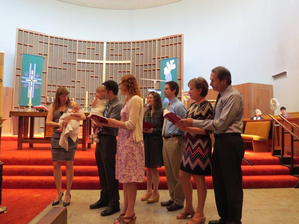 Arden & Ramona Baptism 2016 -08-30
