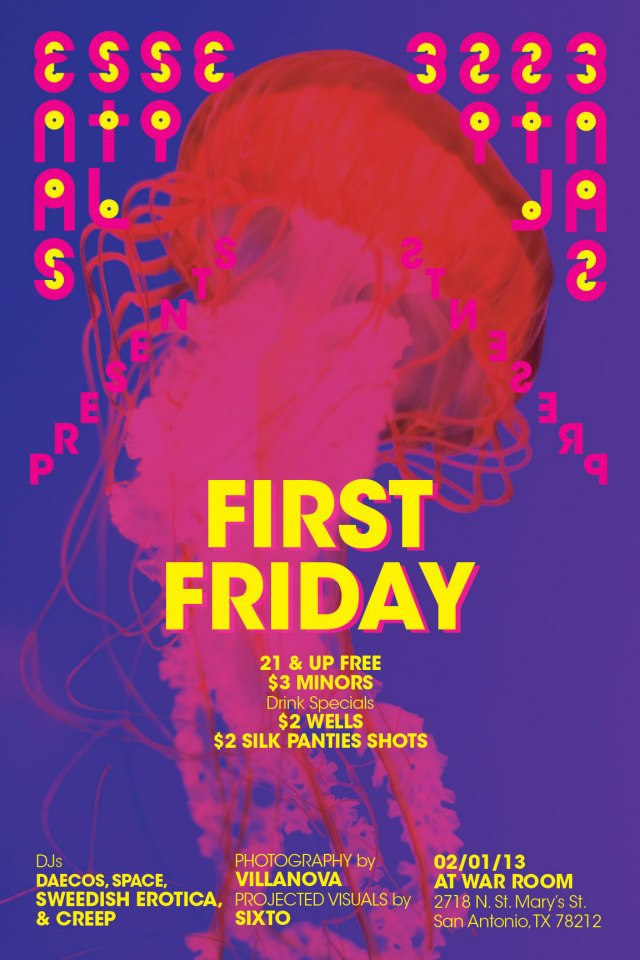 Essentials// First Friday @ War Room