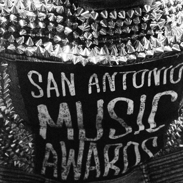 @sacurrent  for San Antonio Music Awards campaign. Jacket Design by Linda Romero Art direction by Eli Miller