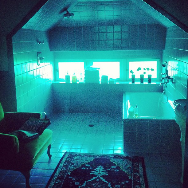 penthouse restroom