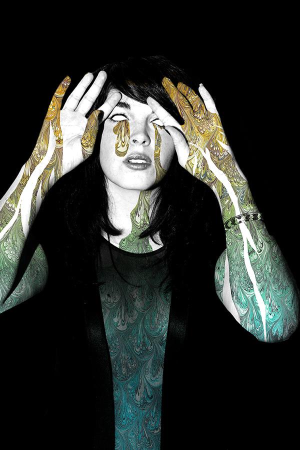 Photography: Fabian Villa //Art Direction and collage: Sixto-Juan Zavala//Model: Alison McBride
