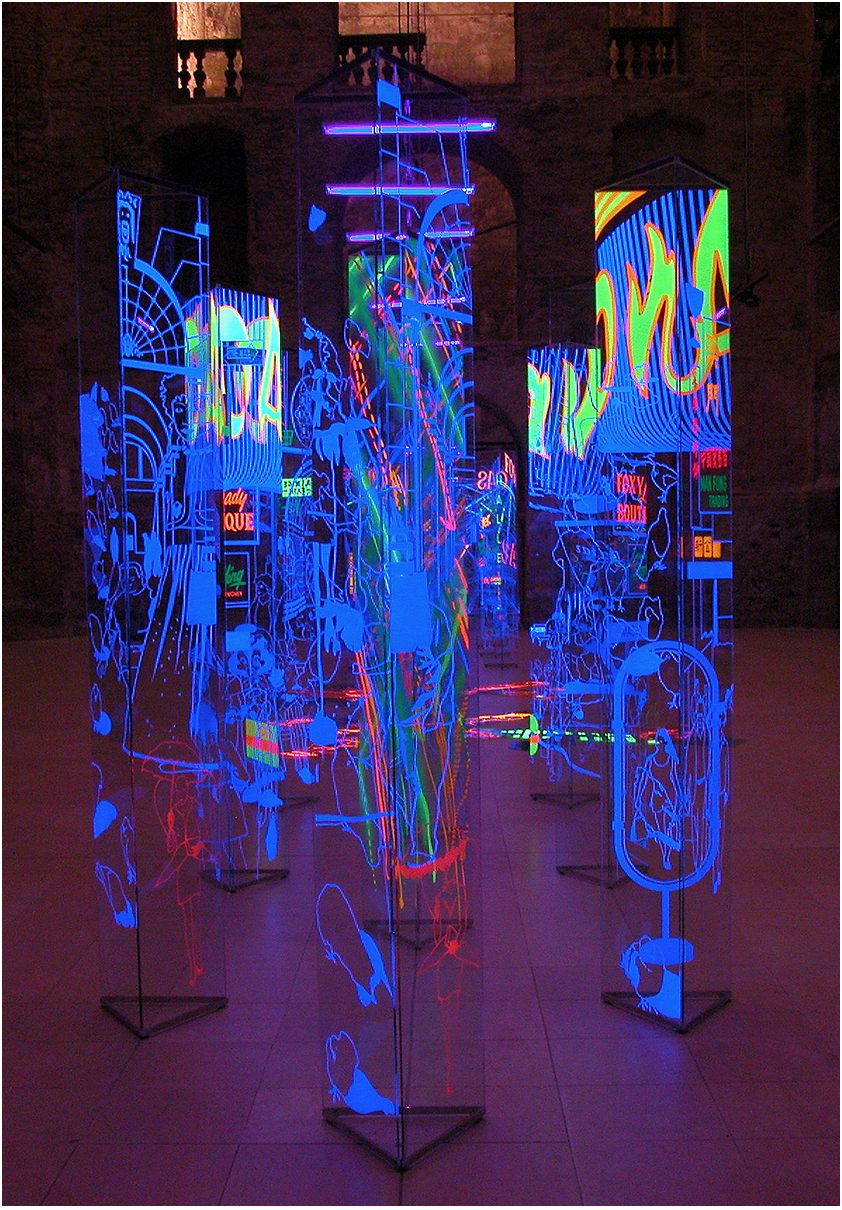 Andras Mengyan, Magic transparency II., 2003