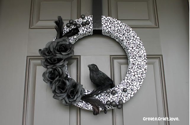 Nevermore Wreath by Create Craft