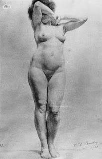 Nude Study 1901 Cecile Baudry