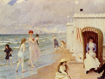 A Day at the Beach by Paul Gustave Fisher