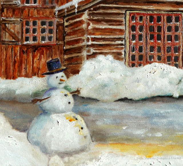 Winter+at+the+Cabin+Detail+with+Snowman.jpg