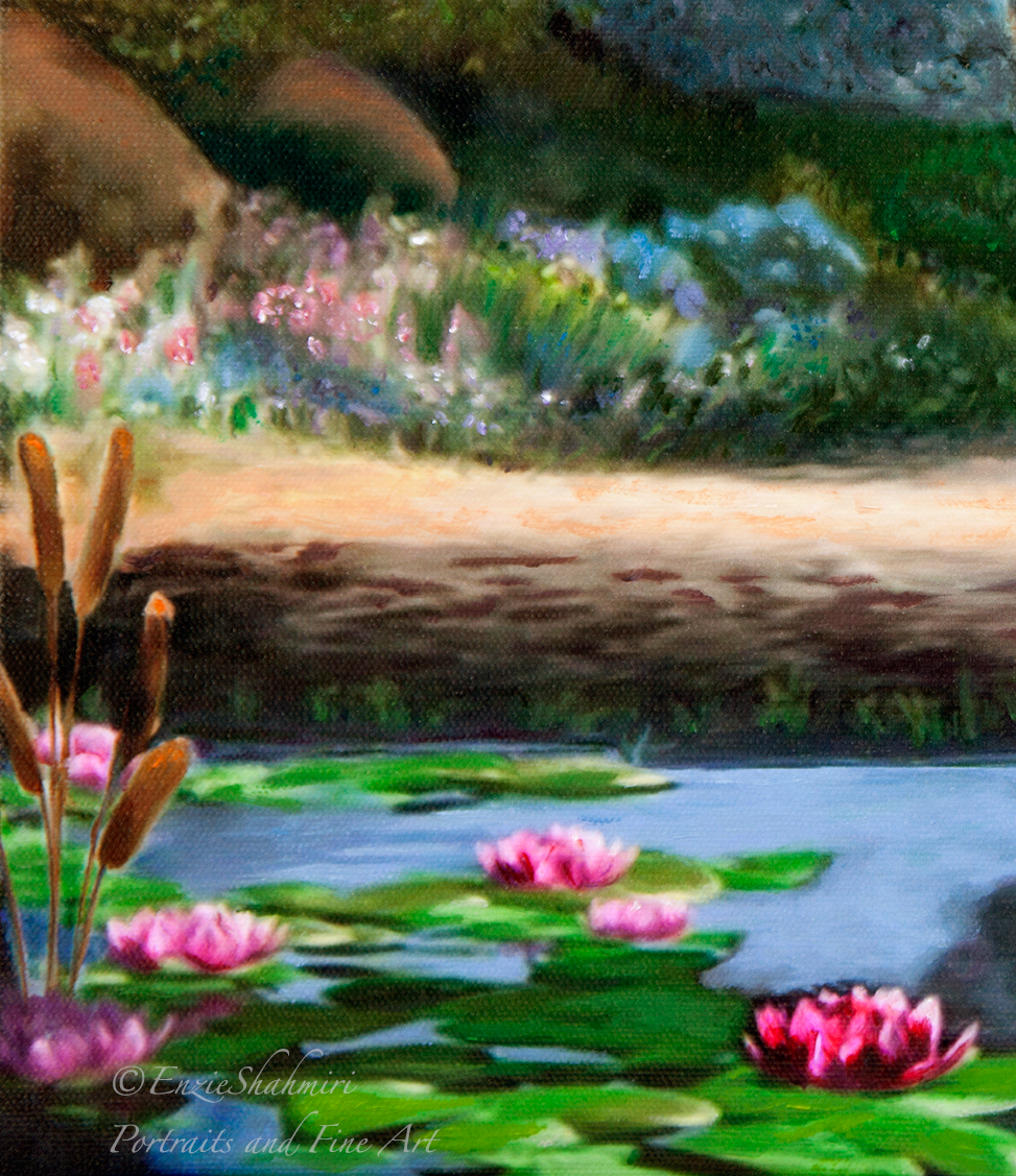 Lilly pond detail