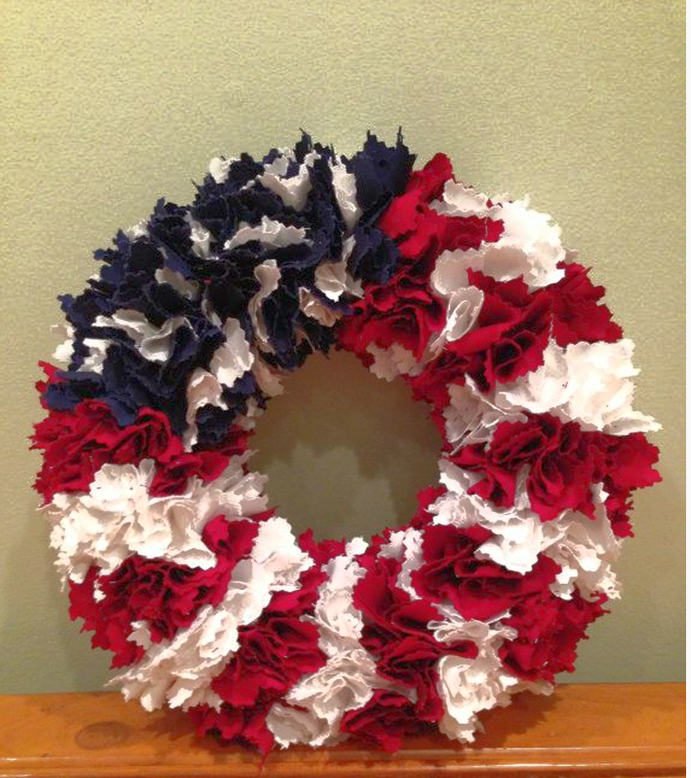 American FlagWreath by MadeInAmericaWreaths