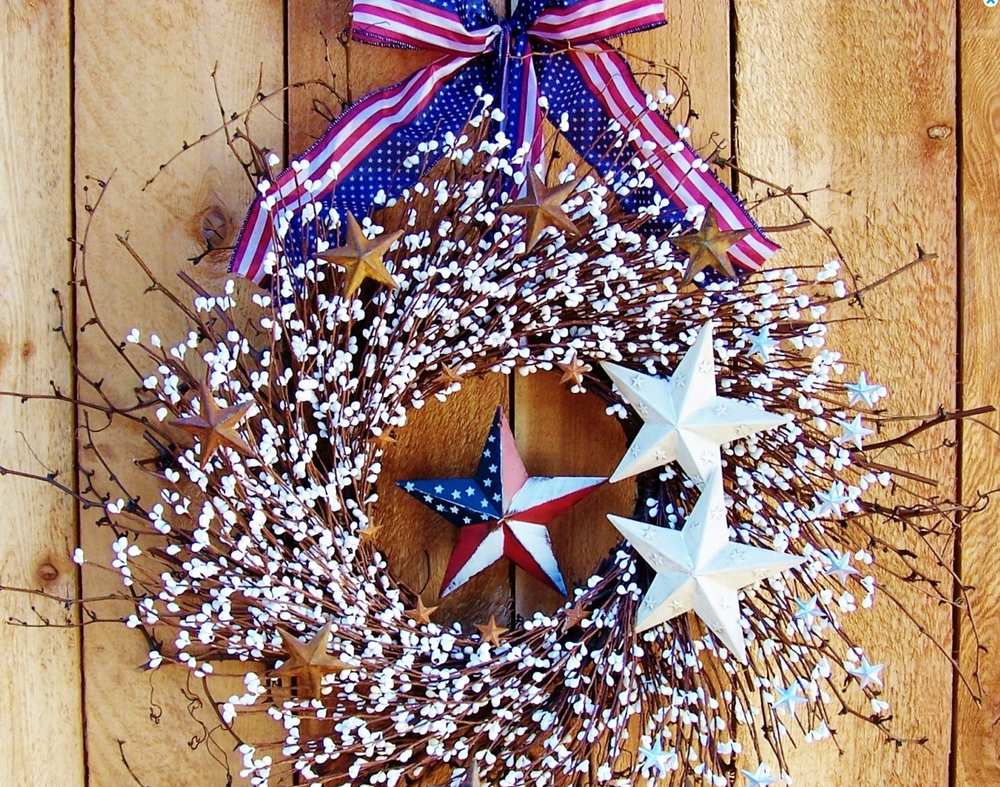 Americana Wreath by DesigningCreations