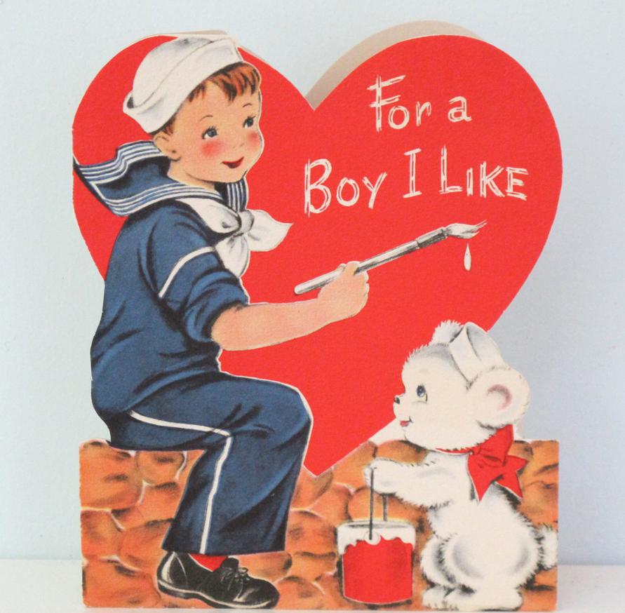 Vintage Valentine byvintagebeachkids