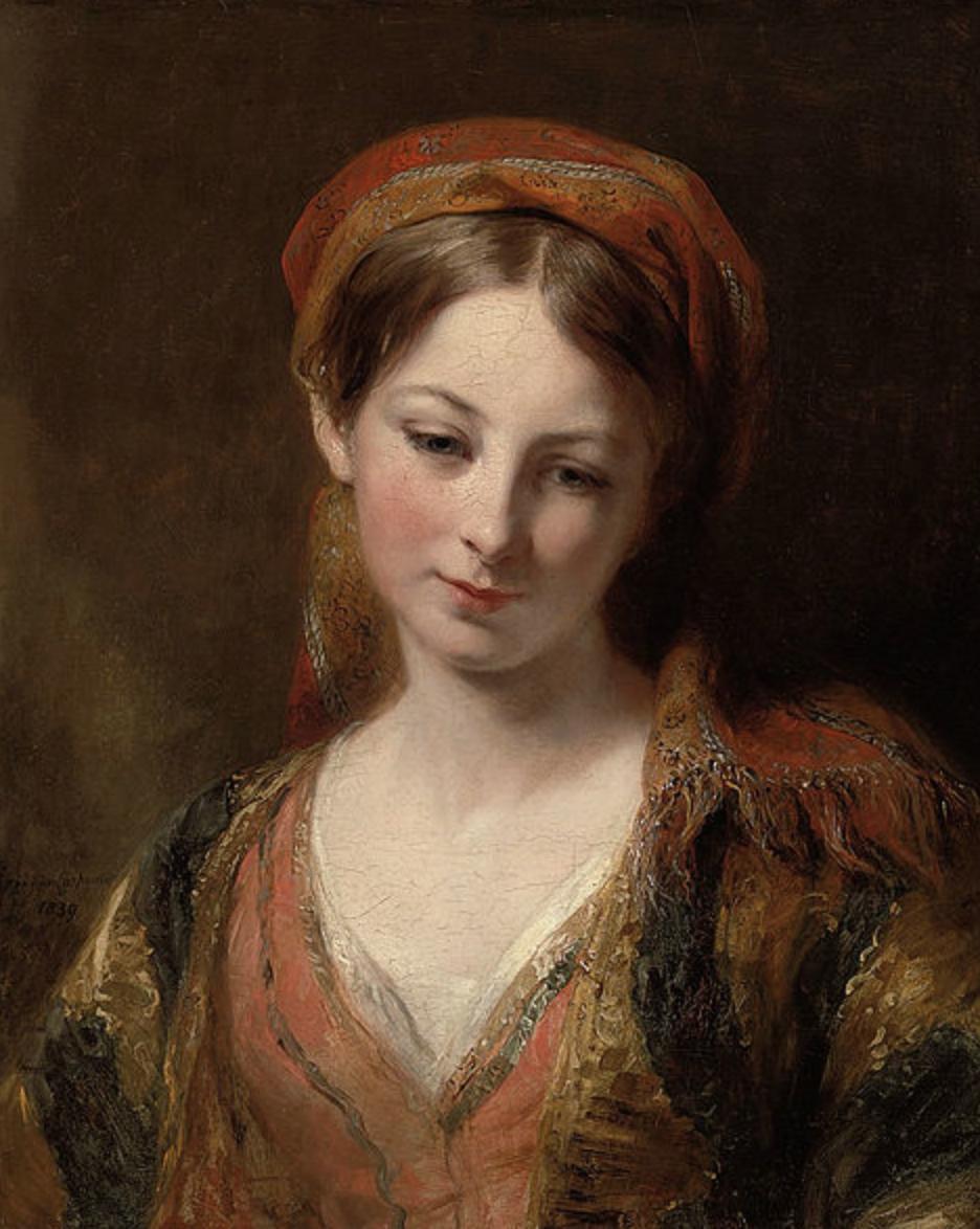 Portrait of a Girl by Margaret Sarah Carpenter.png